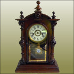 Welsh Rosewood Mantel Clock
