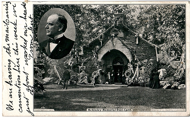 William Mckinley Postcards