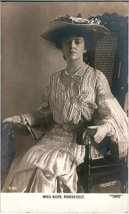 TR 8 - Alice Roosevelt, Wife