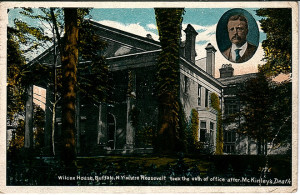 TR 9 - Wilcox House where Took Oath of Office After McKinley Death
