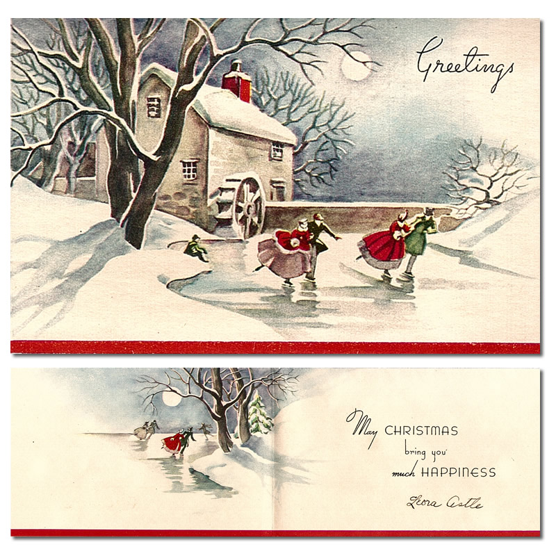 Showcase Collection: 1950 Christmas Cards
